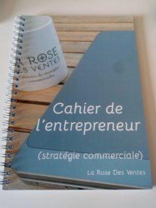 La cahier de l'entrepreneur : outil de bilan et de réflexion sur la stratégie commerciale