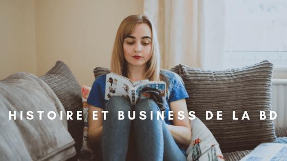 Entete histoire et business de la BD