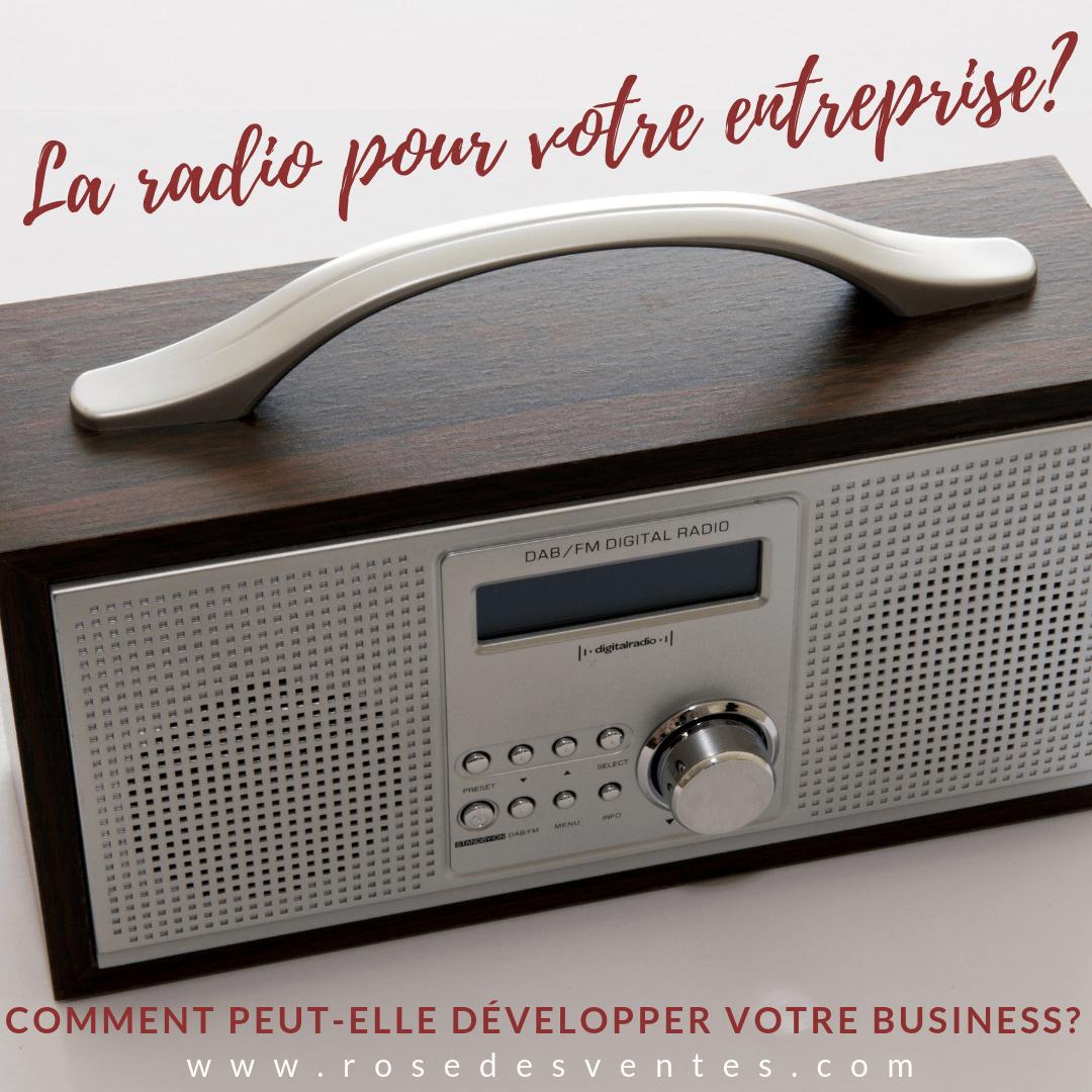 La radio peut-elle développer votre entreprise?