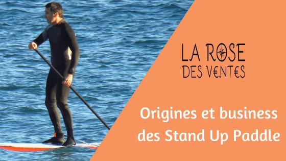 Article sur les origines et business des Stand Up Paddle