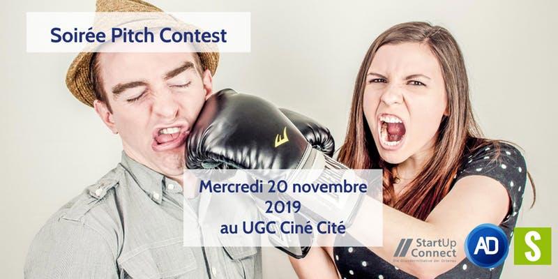 Soirée Pitch Contest 2019 - Strasbourg