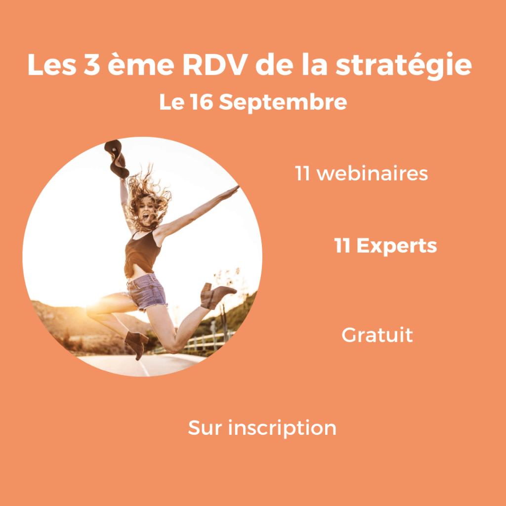Les 3 eme RDV de la stratégie