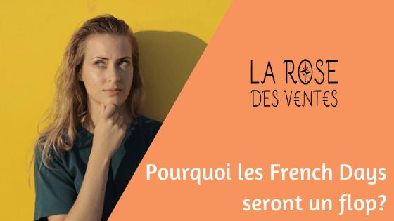 Pourquoi les French Days seront un flop?